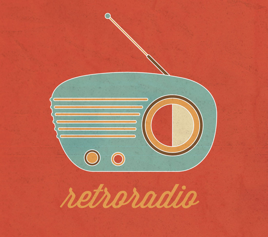 retroradio-rojo