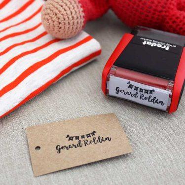 Sello textil automático