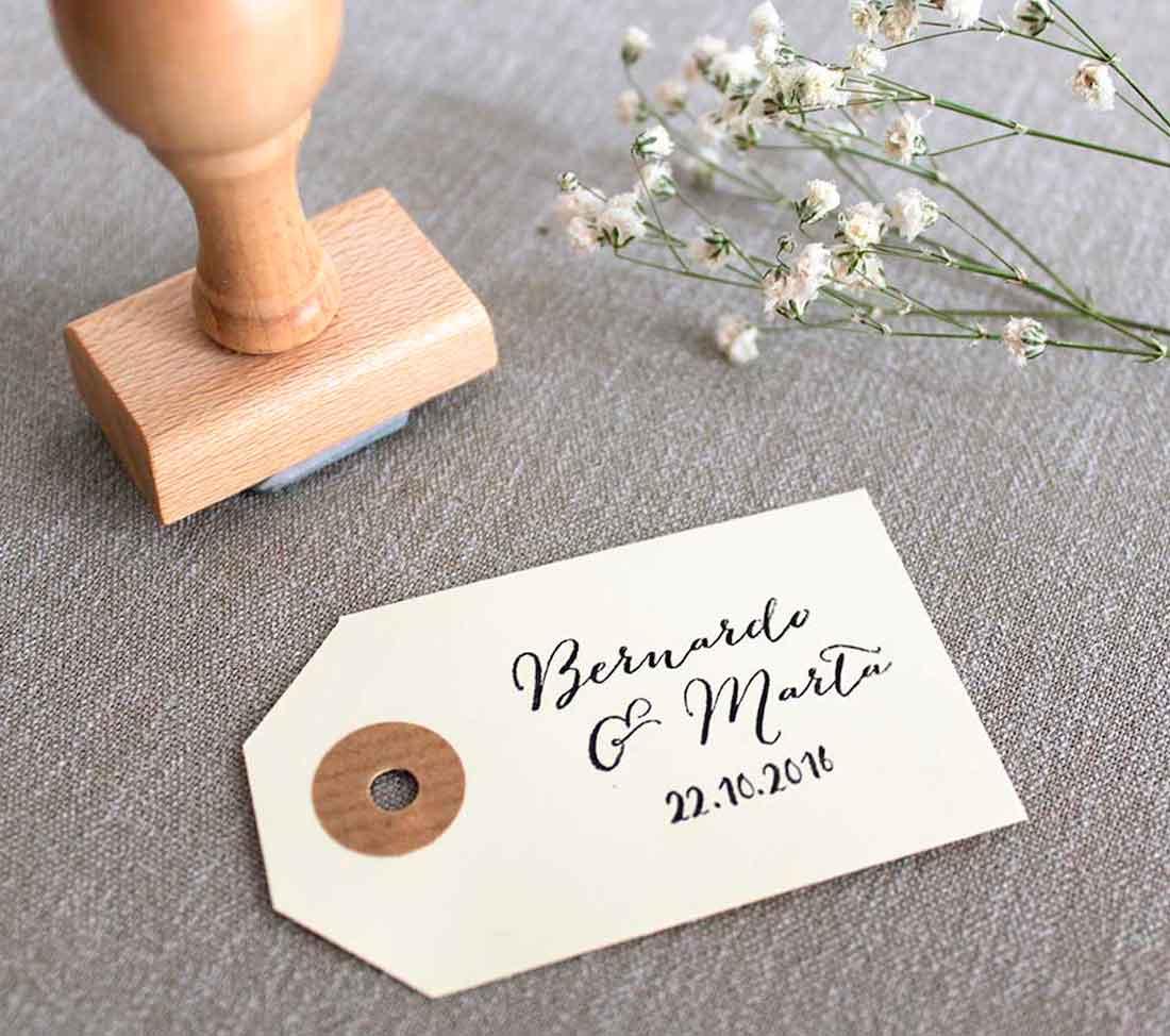 Sello para boda