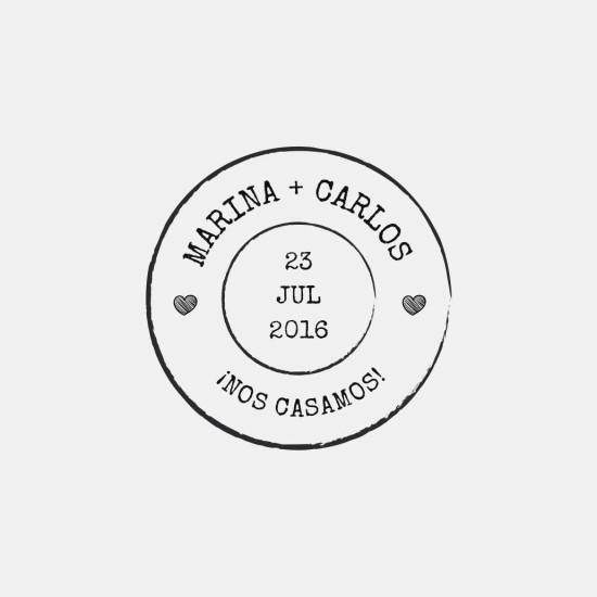sello de boda