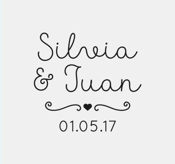 sellos de boda