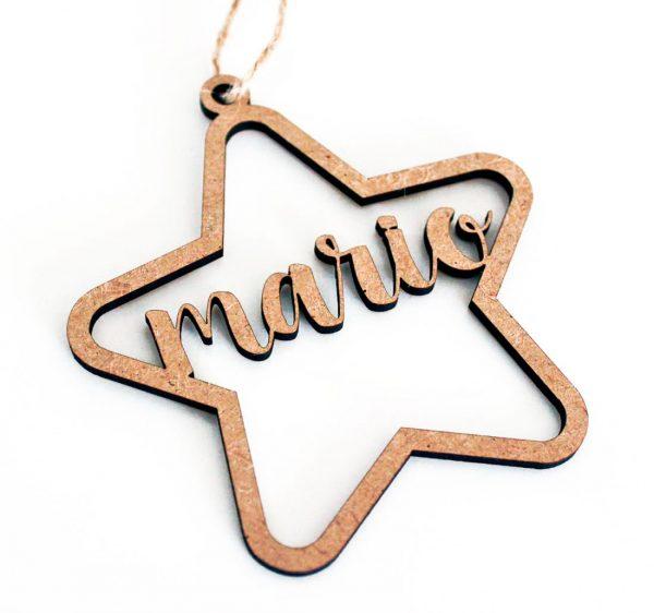 Decoracion-Navidad-Madera-Estrella