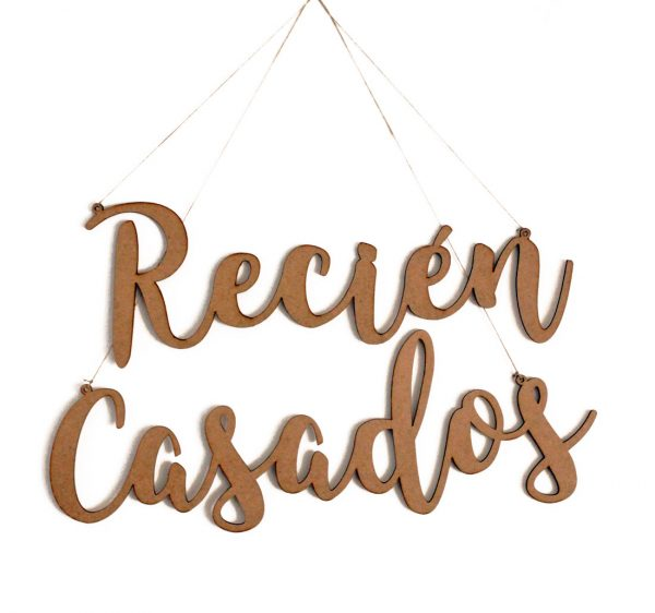 Palabras Madera-Recien Casados