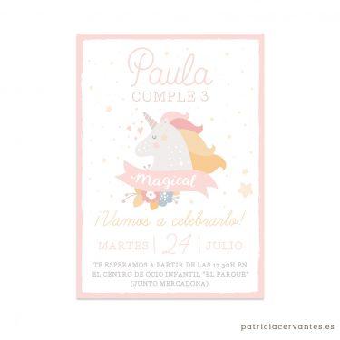 Invitacion-Cumpleanos-Digital-Sweet-Unicorn