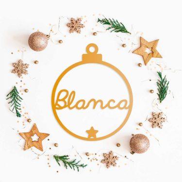 Decoracion-Navidad-Bola-Personalizada-Metacrilato