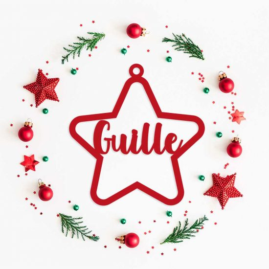Decoracion-Navidad-Estrella-Personalizada-Metacrilato