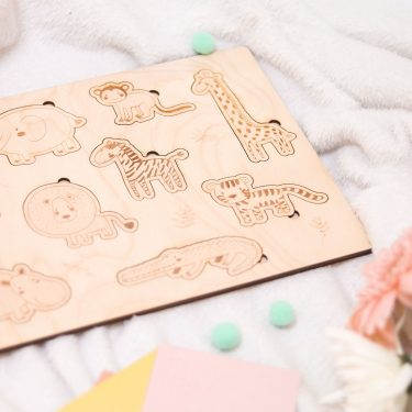 puzzle madera encajable