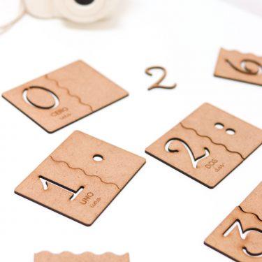 """Puzzle rompecabezas """"Números"""""""