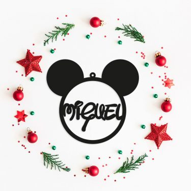 Bola personalizada de color Mickey